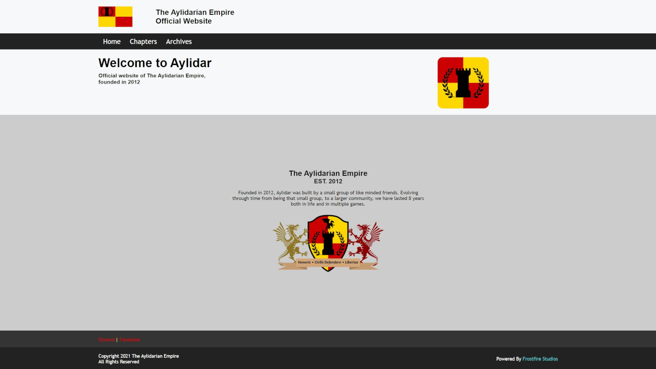 Aylidarian Website